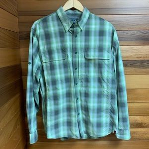 Woolrich Men's Cross Country Yarn Dye Tech Shirt